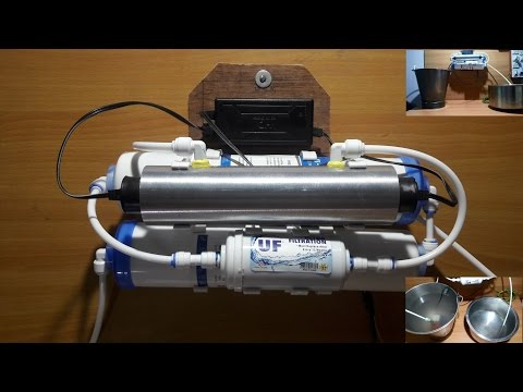 Homemade uv uf (4 stage) water purifier for tap water- very effective & cheap