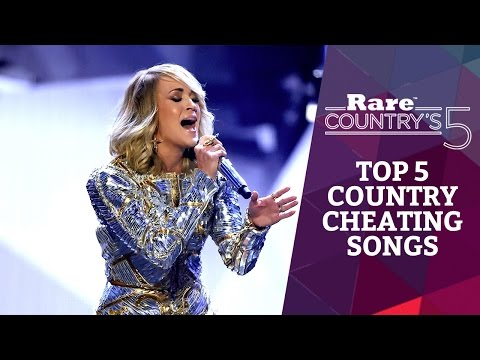 Top 5 country cheating songs | rare country's 5