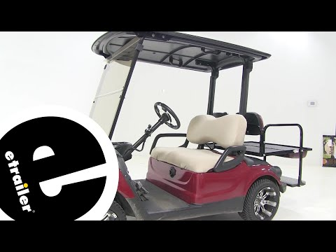Etrailer | classic accessories golf cart seat cover review