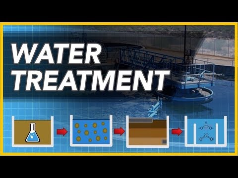 How do water treatment plants work?