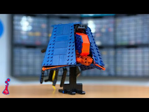 How to build a lego sci-fi spaceship (ft. michael kanemoto)