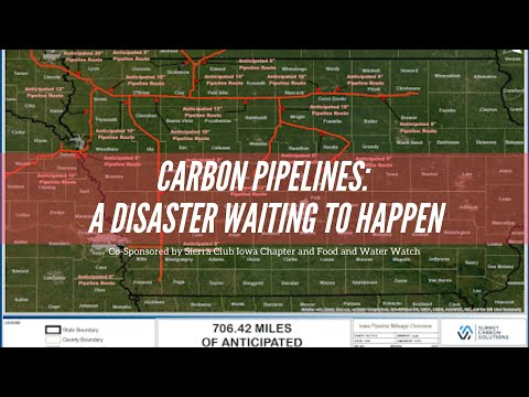 Carbon pipelines: a disaster waiting to happen