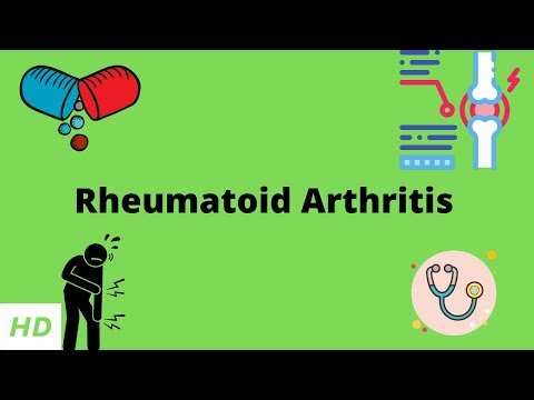 Rheumatoid arthritis, causes, signs and symptoms, diagnosis and treatment.
