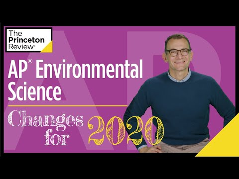 Ap® environmental science: changes for 2020 | the princeton review