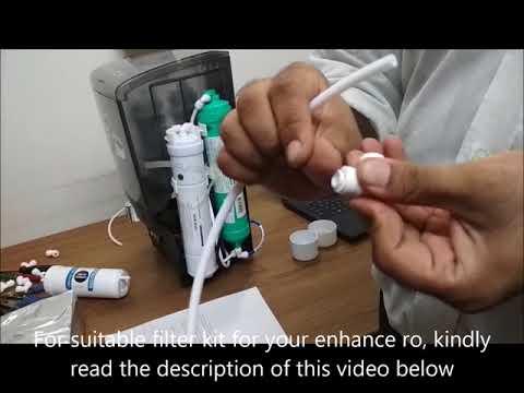 Self service assistance video for aquaguard enhance ro water purifier from filterkart.com