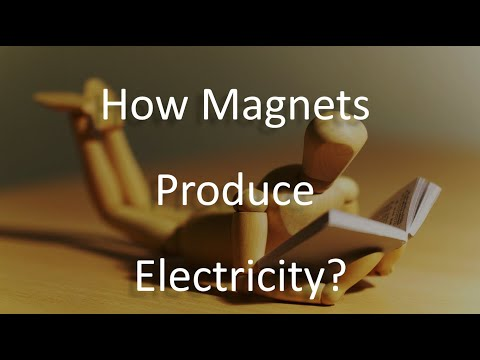 How magnets produce electricity(simplest explanation ever)