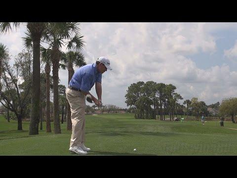 Johnson wagner - 2014 fairway wood golf swing regular & slow motion 1080p hd