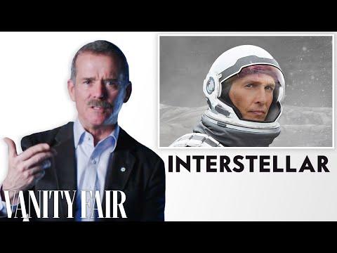 Astronaut chris hadfield reviews space movies, from 'gravity' to 'interstellar'   vanity fair