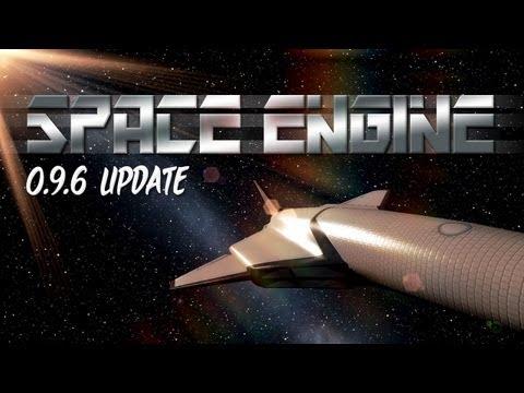 Space engine 0.9.6 update - supermassive black holes, pandora and spacecraft