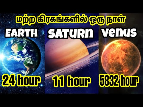 How long is a day on other planet in our solar system in tamil
