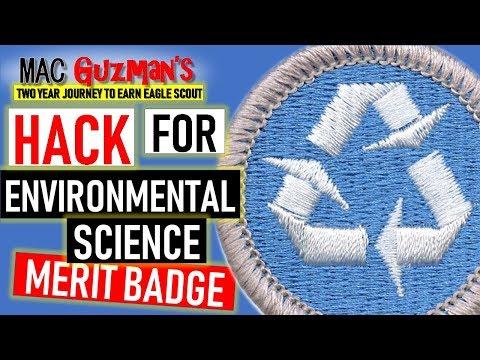 How to get environmental science merit badge - secret merit badge university hack
