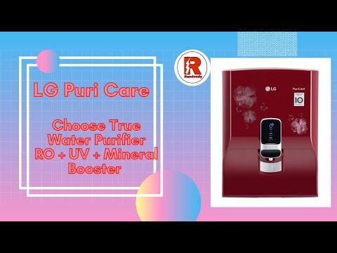 #lg water purifier - unboxing - ro uv mineral booster water purifier model no. ww151npr