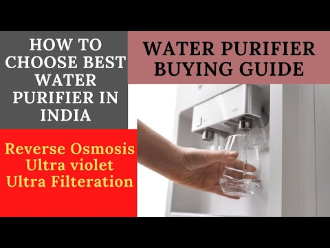 How to choose best water purifier in india 2021
