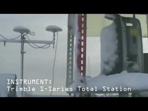 Trimble total station: 24/7 monitoring