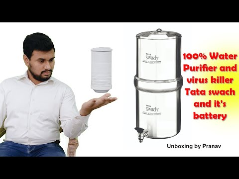 Best water purifier in india for home tata swach steel water purifier