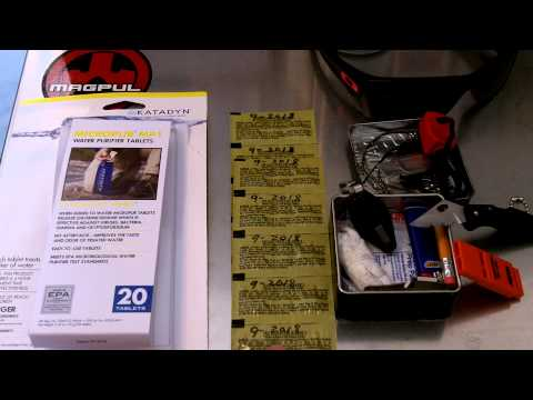 Katadyn micropur water purifier tabs