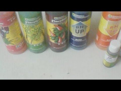 General hydroponics products how to grow weed
