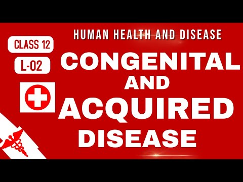 Types of disease - human health and disease | class 12 biology