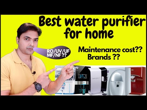 Water purifier buying guide for home | water purifier maintenance cost