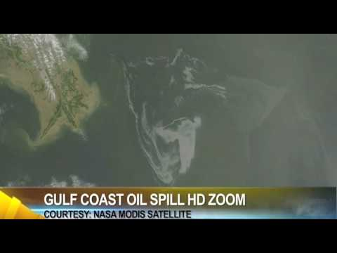 Gulf coast oil spill hd zoom & maps