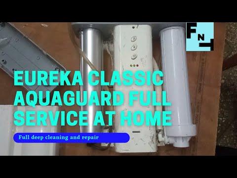 Aquaguard classic water purifier service how to clean aquaguard classic water purifier fix aquaguard