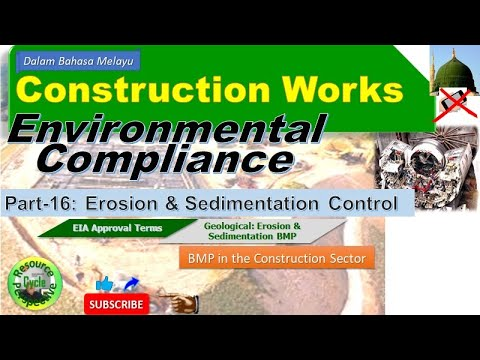 Construction works part-16 esc bmp summary of requirements