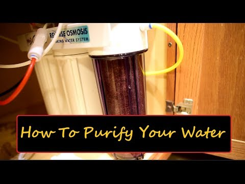 Why you need to set up a reverse osmosis system