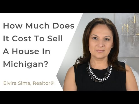 How much does it cost to sell a house in michigan?