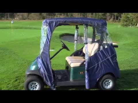 Fairway travel golf cart enclosures by classic accessories