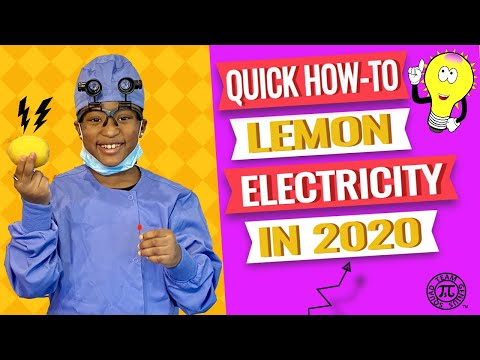 Quick how to make lemon electricity in 2021   how to make electricity with a lemon - experiment
