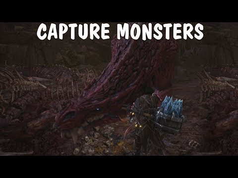 🍀 how to capture monsters in mh world — pitfall traps & tranq bomb   howto mhw #2