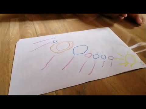 Little simon's version on 8 planets in the solar system