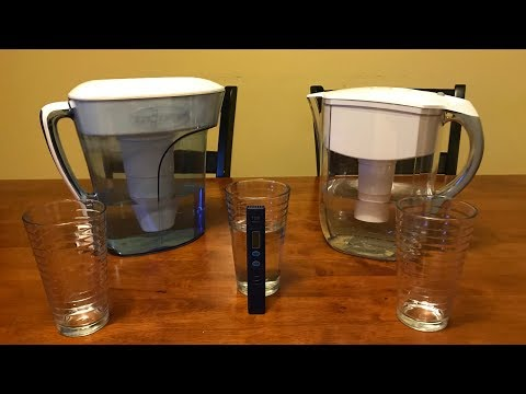 Zero water vs brita water filter tds test! which is the best filter? - ntr