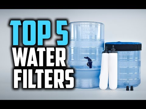 Best water filters in 2018 - which is the best water filter?