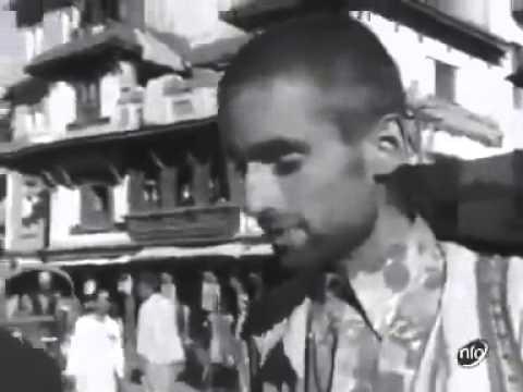During hippies era in kathmandu, old nepal