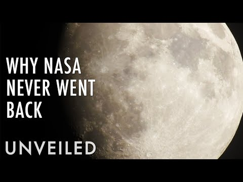 Why did nasa stop going to the moon?   unveiled