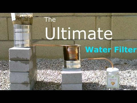 Ultimate diy water filter! - 2 stage water purifier (purifies/heats&cooks!) - simple diy - quickview