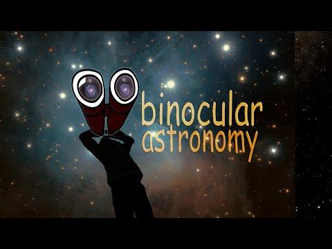 What does space look like through binoculars?