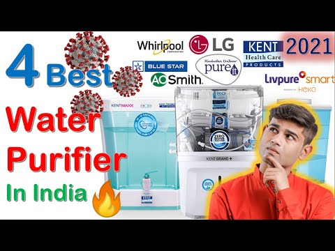 🔥 top 4 best water purifier in india for home & office 2021 water purifier buying guide ro uv uf mf
