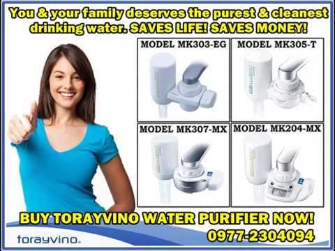 What is torayvino water purifier?