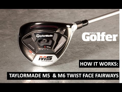 How it works: taylormade m5/m6 fairway woods - twist face explained