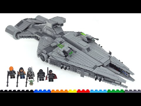 Lego star wars (moff gideon's) imperial light cruiser 75315 review! much good, much bad!