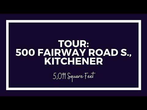 Video tour: 500 fairway road s., kitchener, on