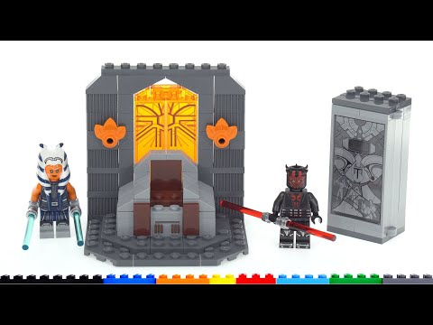 Lego star wars duel on mandalore 75310 review! actually not bad, except the price
