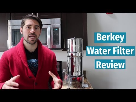 Big berkey water filter review - the best water filtration system for your home?