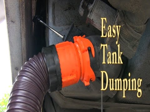 How to empty & clean your rv black and grey water tanks