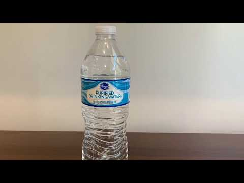 Kroger purified #water test - ph and tds