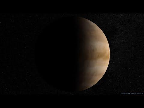 Does life exist in venus' atmosphere?