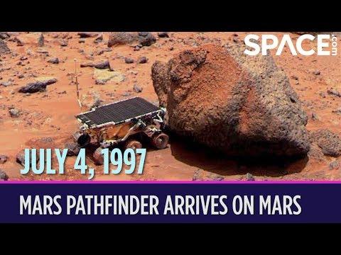 Otd in space – july 4: mars pathfinder arrives on mars