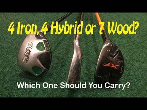 Iron, hybrid or fairway wood - which should you carry?